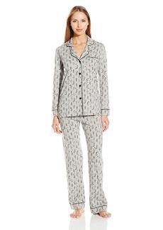 Cosabella Women's Bella Printed Long Sleeve Top and Pant Pajama Set