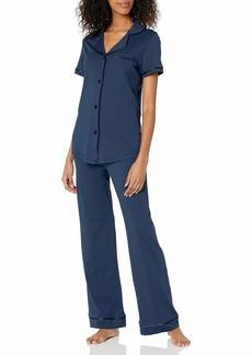 Cosabella Women's Bella Short Sleeve Top & Pants Pajama Set