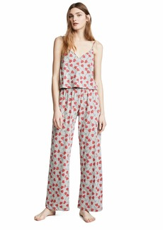 Cosabella Women's Charming Cami Pant Pj Set Heart pops