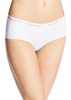 Cosabella Women's Edge Cotton Low Rise Hotpant Panty