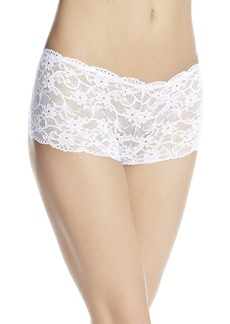 Cosabella Women's Glow In The Dark Lace Hotpant Panty