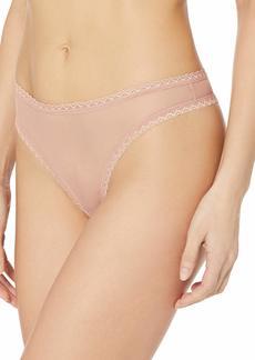 Cosabella Women's Mesh Temptations Lowrider Thong  Small/Medium