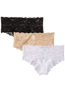 Cosabella Women's Never Say Never Hottie 3 Pack Panty  Small/Medium
