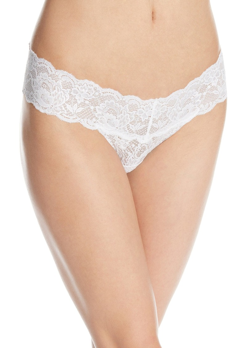Cosabella Women's Never Say Never Iridescent Cutie Thong Panty