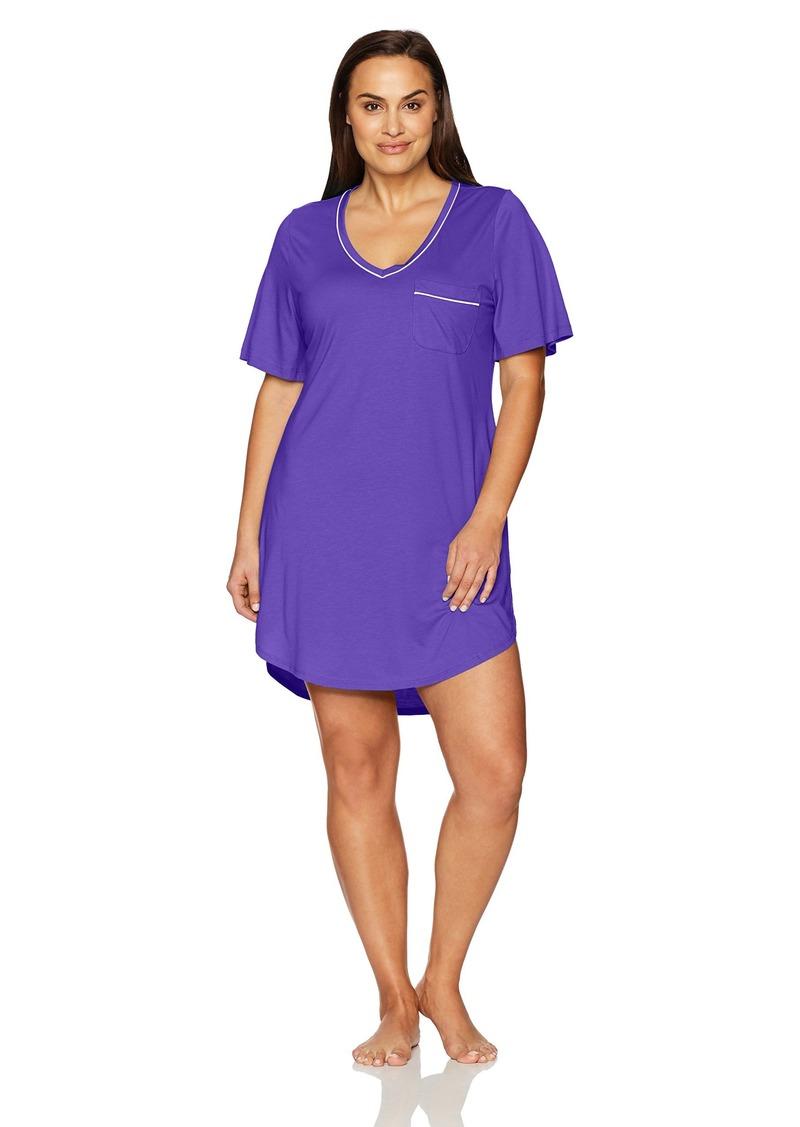 Cosabella Women's Plus Size Bella Extnd Ss Dress  1X