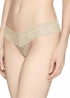 Cosabella Women's Plus Size Say Never Cutie Lowrider Thong  Medium/Large