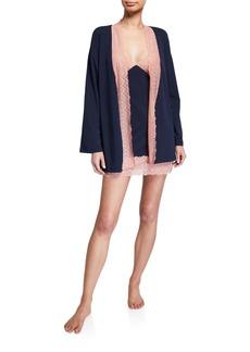 Cosabella Ferrara Lace Kimono