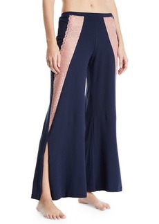 Cosabella Ferrara Lace-Trimmed Pajama Pants