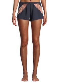 Cosabella Ferrara Lace-Trimmed Pajama Shorts