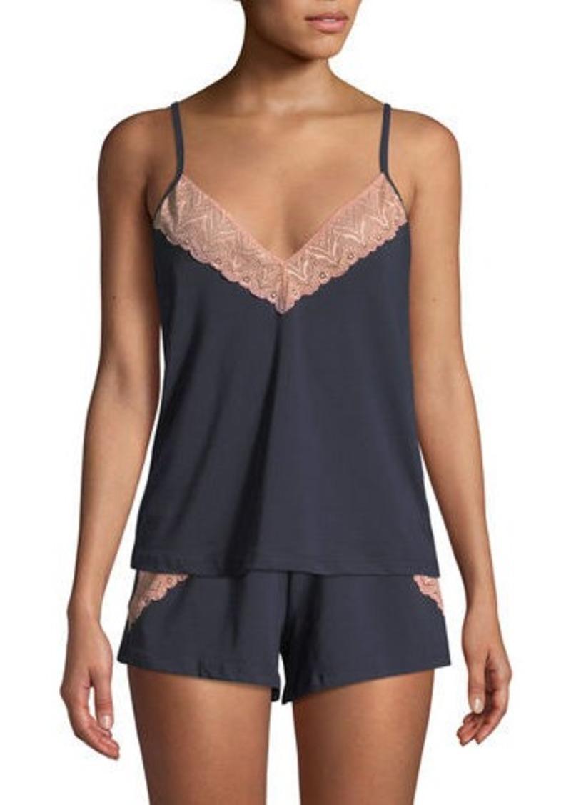 6cbc63571953 Cosabella Ferrara Lace-Trimmed V-Neck Lounge Camisole