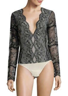 Cosabella Floral Lace Bodysuit