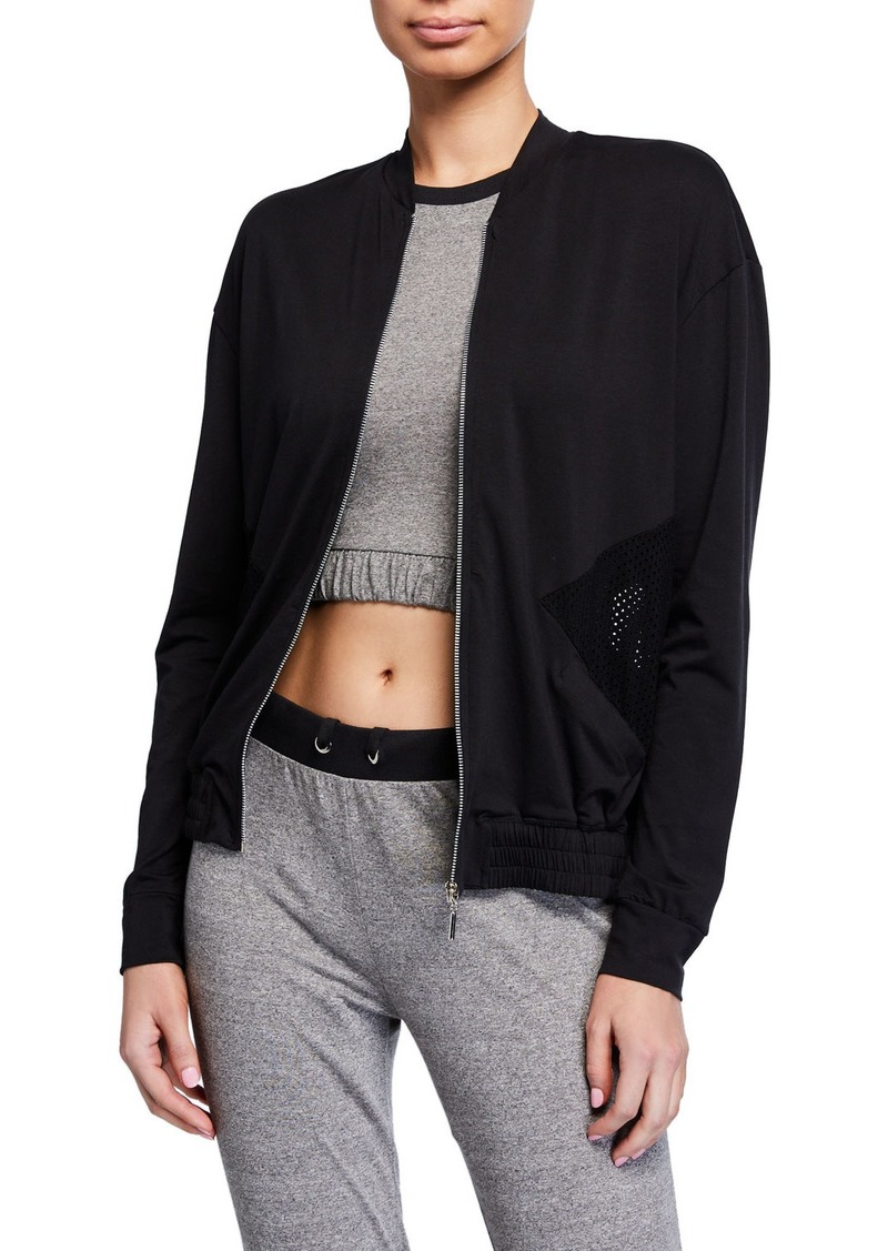 Cosabella Mesh Inset Jacket