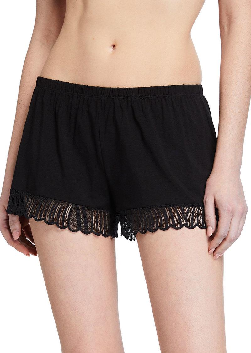 Cosabella Minoa Lace-Trim Sleep Shorts