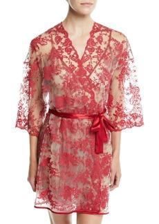 Cosabella Rosie Velvet Short Robe