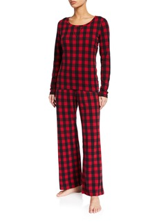 Cosabella Ski Trip Check Pajama Set