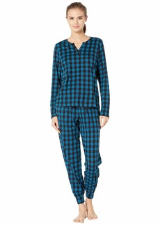 Cosabella Ski Trip Printed Pima Cotton PJ Set