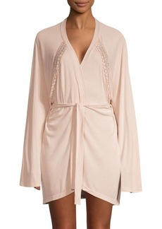 Cosabella Sweet Dreams Lace-Trim Robe