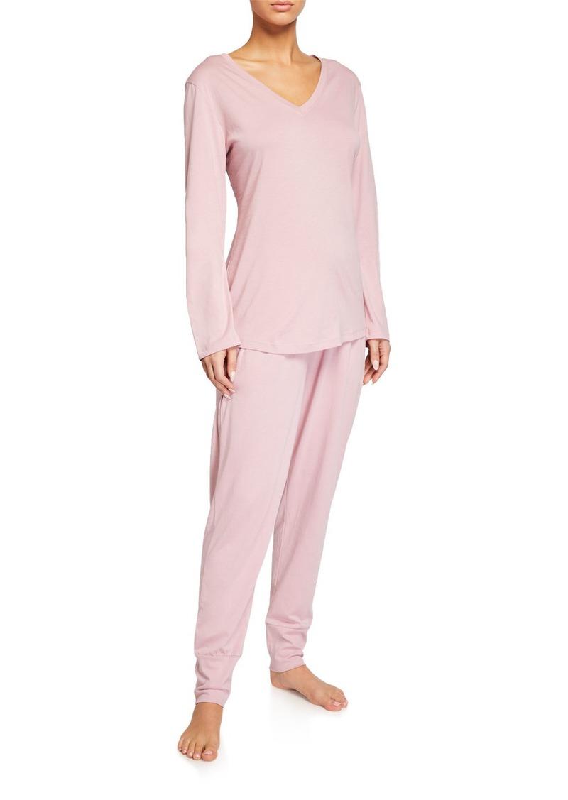 Cosabella Talia Solid Pima Cotton Pajama Set