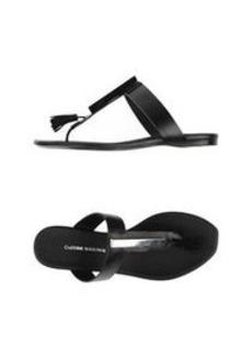 COSTUME NATIONAL - Flip flops