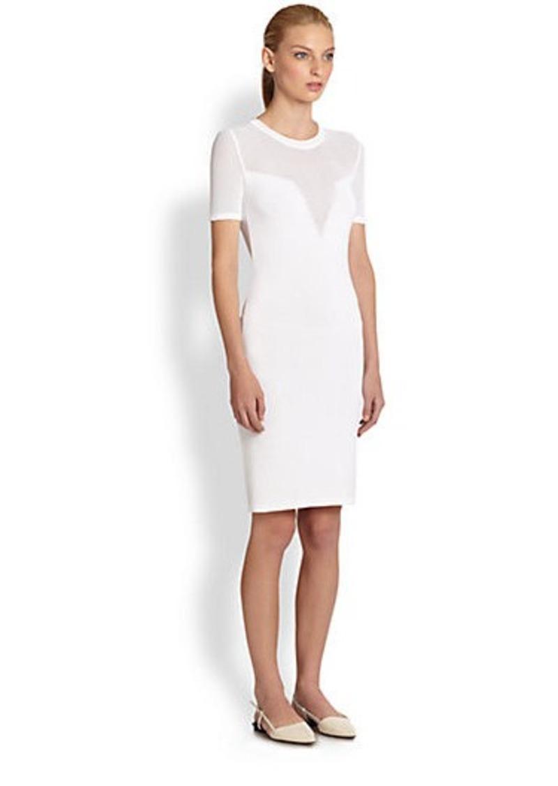 Costume National Knit Trompe L'Oeil Dress