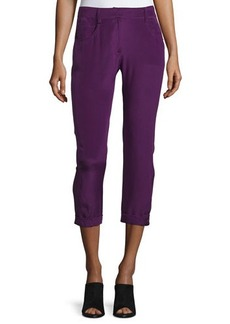 CoSTUME NATIONAL Mid-Rise Skinny Cropped Trousers