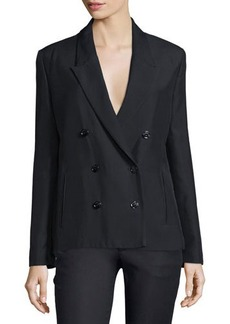 CoSTUME NATIONAL Peaked-Lapel Double-Breasted Jacket