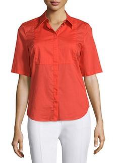 CoSTUME NATIONAL Short-Sleeve Slim-Fit Top