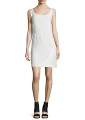 Costume National Sleeveless Bias-Cut Sheath Dress
