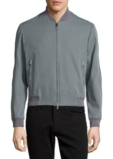 Costume National Zip-Front Bomber Jacket