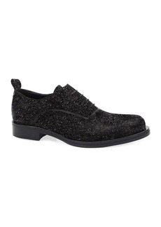 Costume National Men's Glitter Oxford Shoes