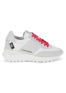Costume National Runner Leather & Suede Sneakers