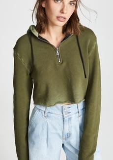 Cotton Citizen Athletic Crop Hoodie