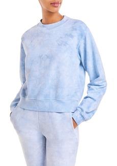 Cotton Citizen Milan Cropped Tie-Dye Sweatshirt