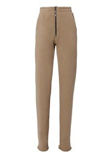 Cotton Citizen Dark Tan Zip Trousers