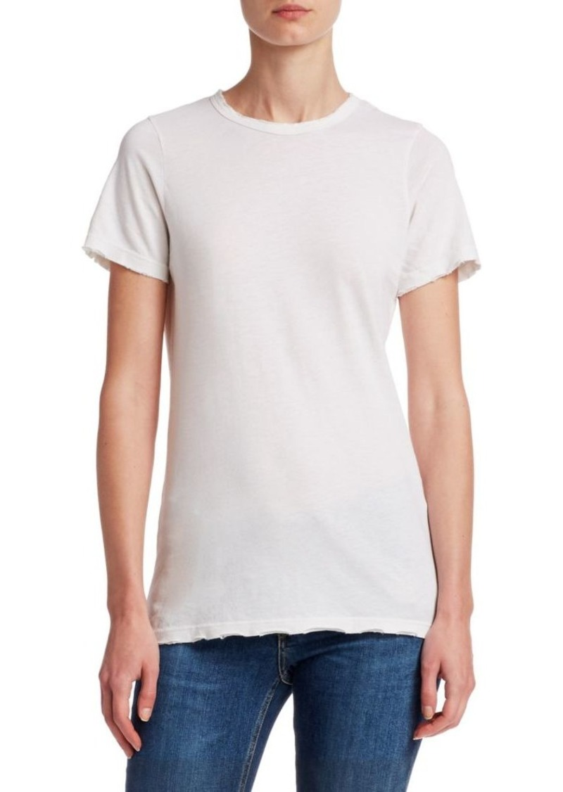 Cotton Citizen The Classic Crew Distressed Tee