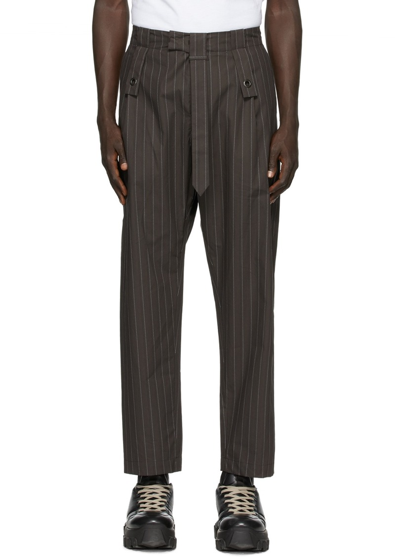 Craig Green Brown 'The Utility' Trousers