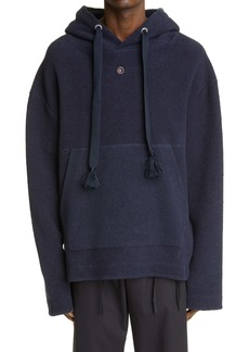 Craig Green Embroidered Hole Reverse French Terry Hoodie
