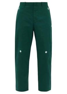 Craig Green Mirrorwork poplin straight-leg trousers