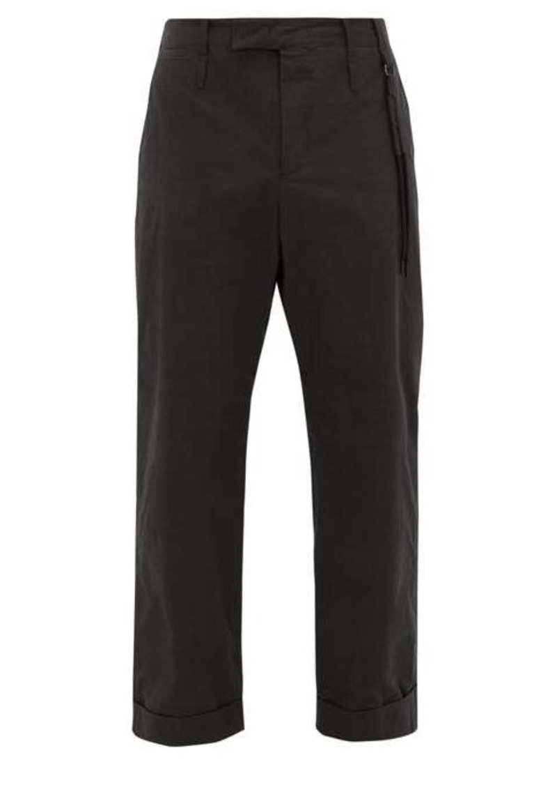 Craig Green Uniform straight-leg cotton-blend trousers