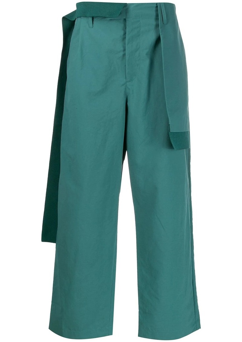 Craig Green draped-panel straight trousers