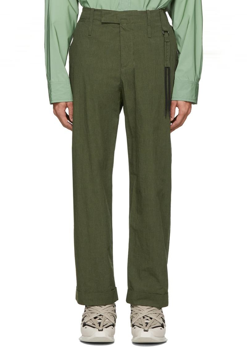 Craig Green Green Uniform Trousers