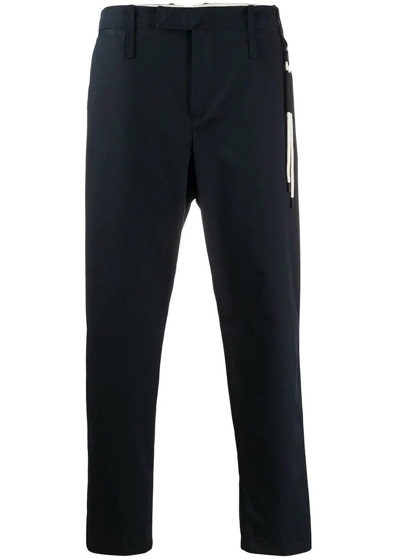 Craig Green lace detailed straight-leg trousers