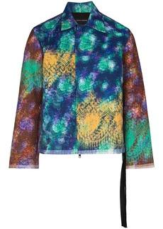 Craig Green x Browns 50 vibrating floral jacket