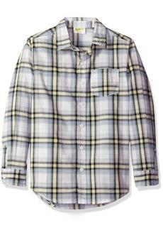 Crazy 8 Big Boys' Poplin Button-Down Shirt Multi XS