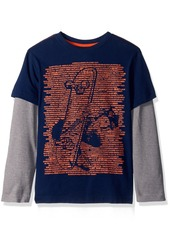 Crazy 8 Big Boys' Two-in-One Graphic Tee  S