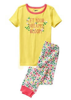 Crazy 8 Big Girls' Her Li'l Short-to-Long Pajamas