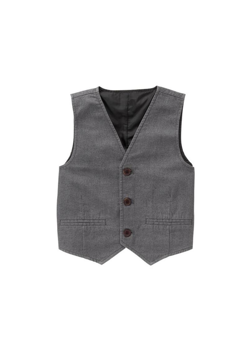 Crazy 8 Big Boys' Herringbone Vest  XS