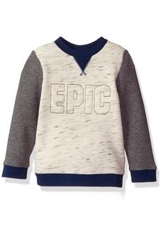 Crazy 8 Boys' Epic Pullover Crewneck  12-18 Mo