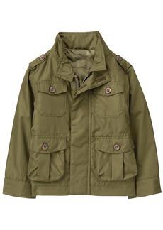 Crazy 8 Boys' Green Nylon Jacket Multi