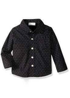 Crazy 8 Boys' His Li'l Long Sleeve Button up Shirt  6-12 Mo
